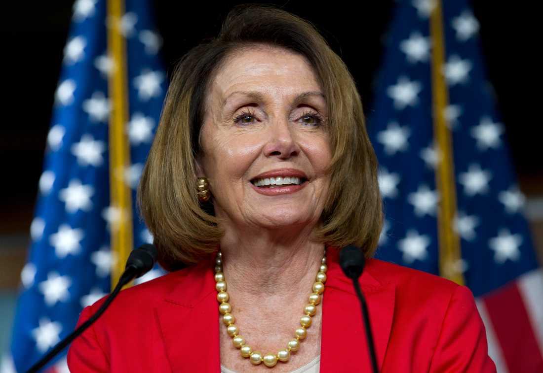 Demokraternas Nancy Pelosi.