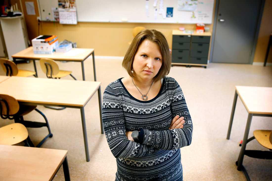 Susanna Winborg har kämpat med att återvända till arbetet, men efter 180 dagar som sjukskriven uppmanas hon söka nytt jobb av Försäkringskassan.