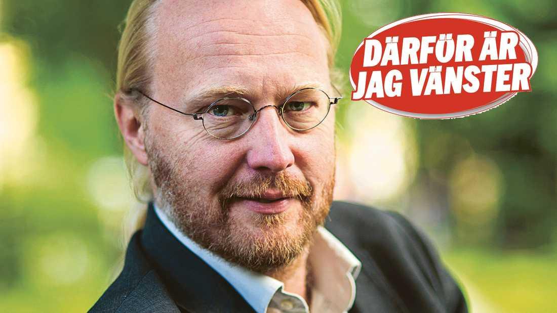 Pelle Andersson, vd Ordfront förlag.