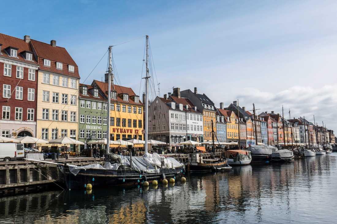 Köpenhamn ska få en ny ö. På bilden syns stadsdelen Nyhavn. Arkivbild.