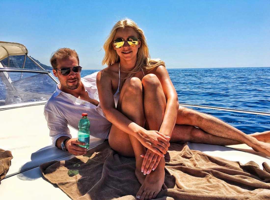 Paret Nilsson Khabibulin lever det ljuva livet i Schweiz och i Arizona.