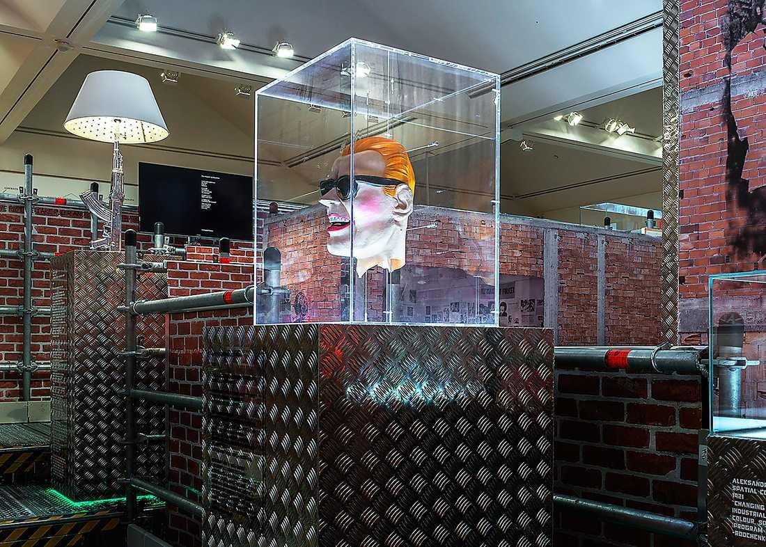 """""""Efter Babel / Poesin kommer att göras av alla / 89 plus"""", installationsvy, Moderna museet, 2015. Foto: Åsa Lundén/Moderna museet"""