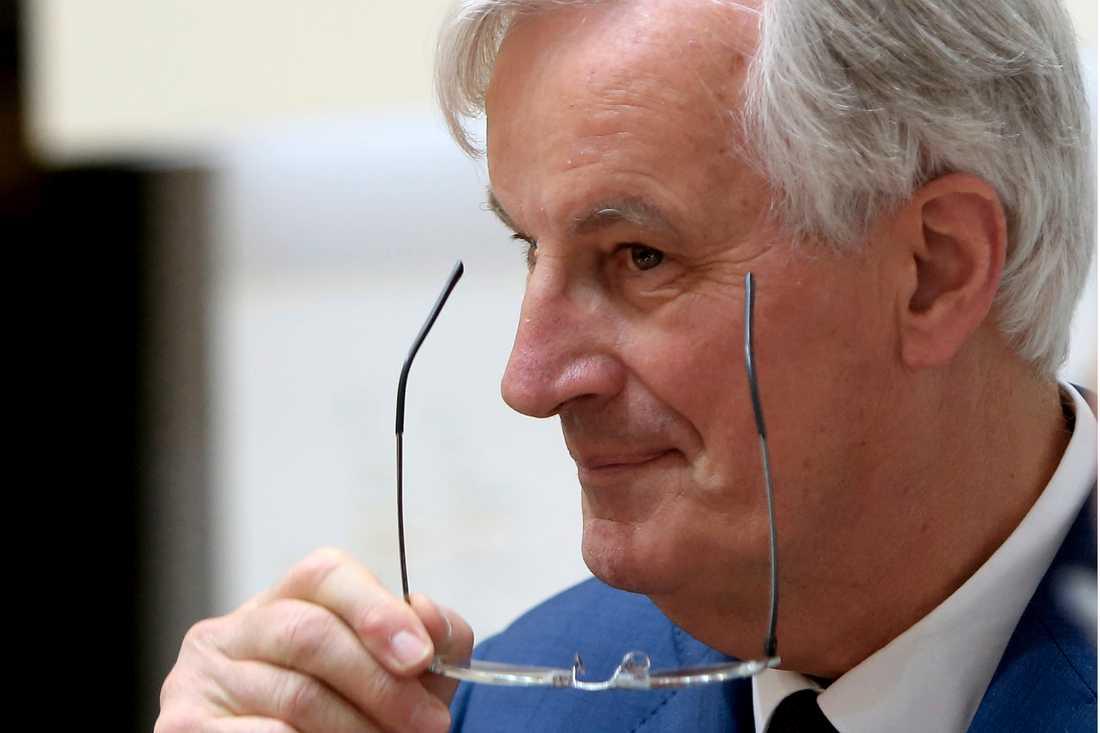Frankrikes förre jordbruks- och utrikesminister Michel Barnier har varit framgångsrik som EU:s chefsförhandlare om brexit. Kanske kan det föra honom till posten som ordförande i EU-kommissionen. Arkivfoto.