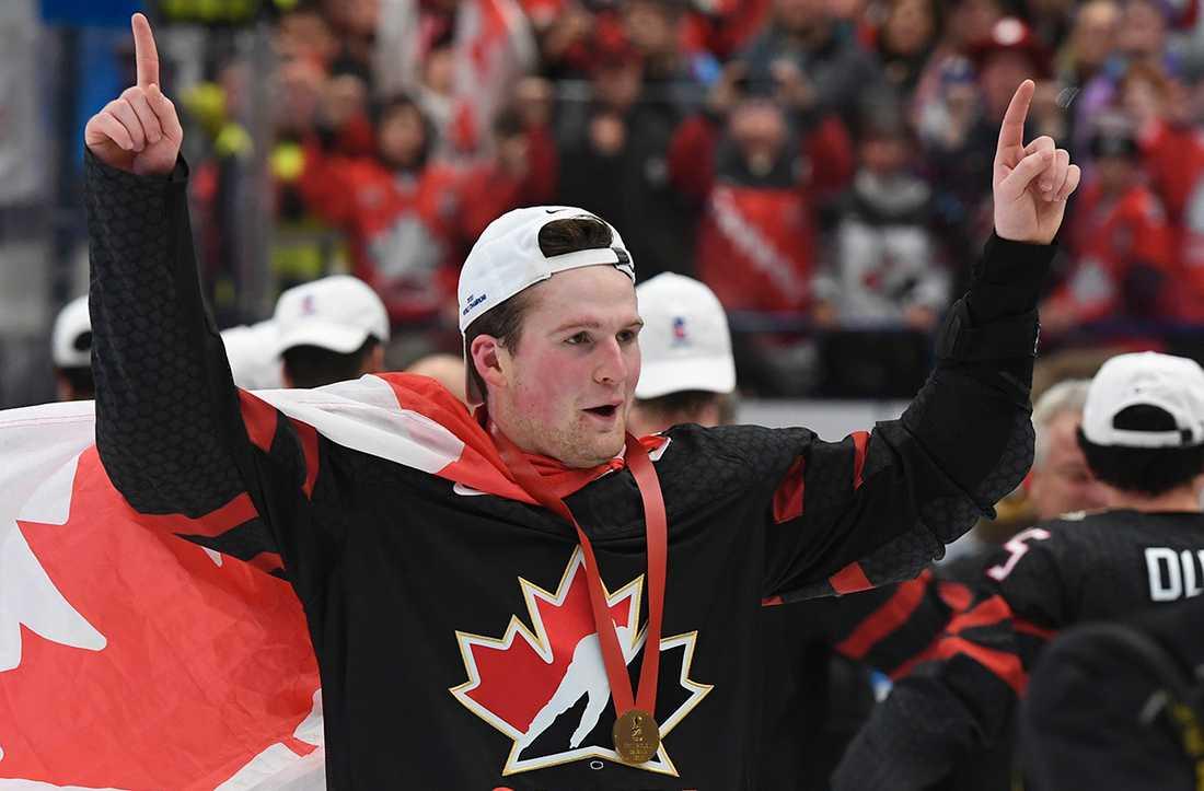 Kanadensiska JVM-hjälten Alexis Lafreniere förväntas gå som nummer ett i draften