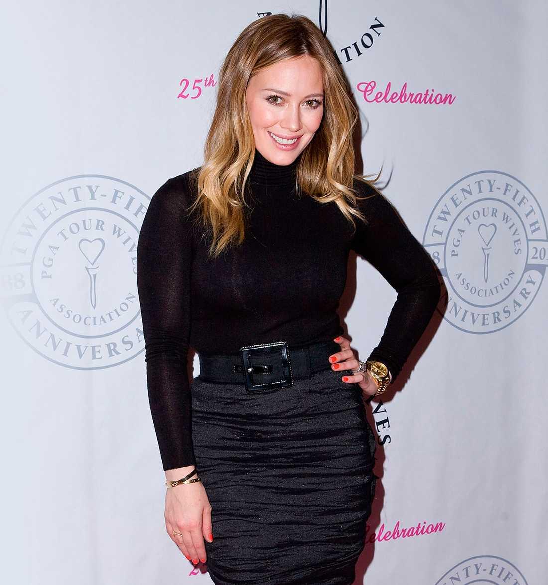 Hilary Duff på PGA-tourens Wives associations 25-års-jubileum i februari.
