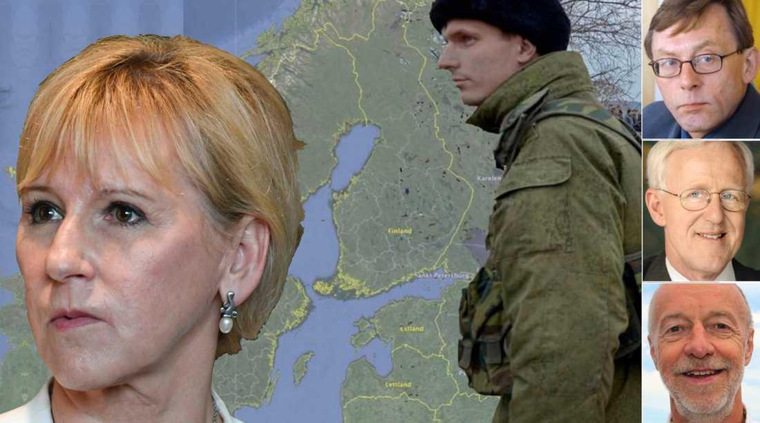 Nato-frågan försvinner inte, Margot Wallström. Om det värsta scenariot skulle bli verklighet kommer domen över svensk socialdemokrati att bli hård, skriver tre socialdemokrater och före detta ambassadörer.
