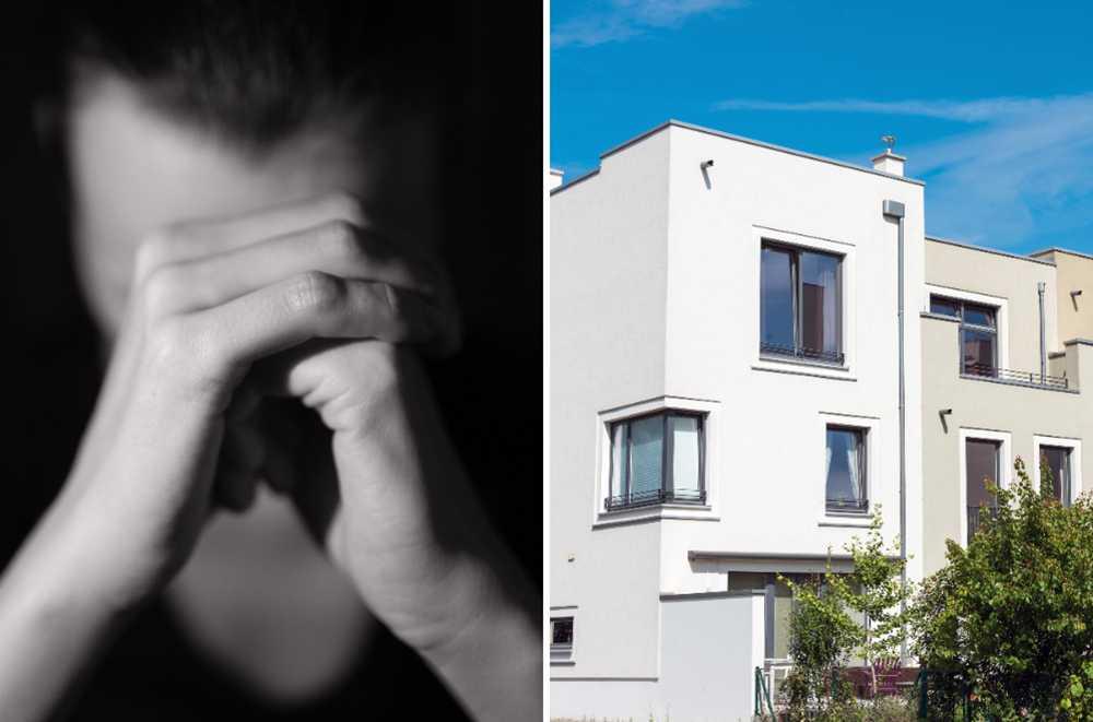 Johan får inte radhuset sålt trots att inflyttningen närmar sig på sin nya lägenhet. OBS. Bilderna är genrebilder och ett montage.