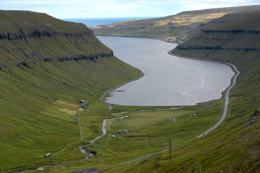 Djuphavsströmmen passerar norr om Färöarna. Arkivbild.