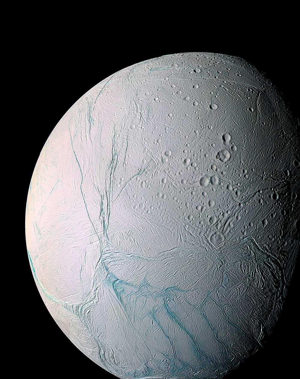 Saturnus måne Enceladus