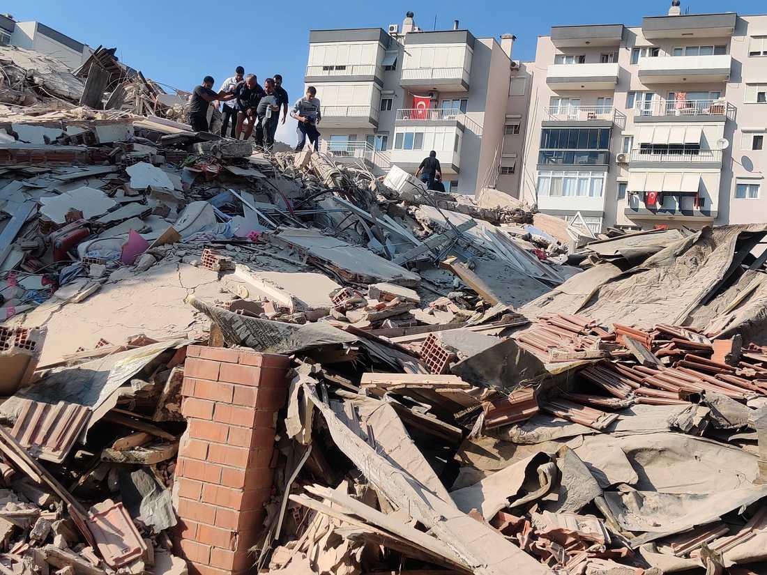 Izmir, Turkiet  efter jordbävningen