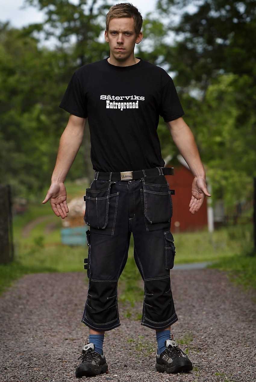 FÖR LÄTTKLÄDD FÖR JOBBET Erik Sätervik vägrade följa företagets nya klädregler – som skiljer sig mellan könen.