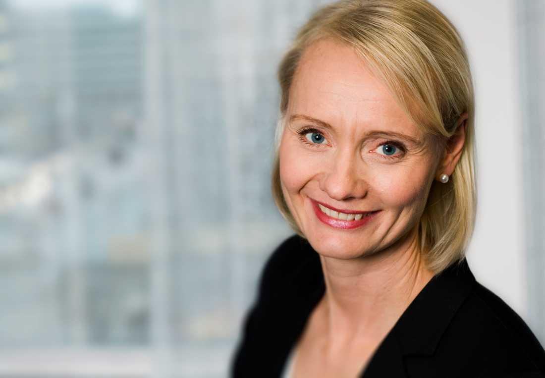 Karin Tegmark Wisell vid Folkhälsomyndigheten.