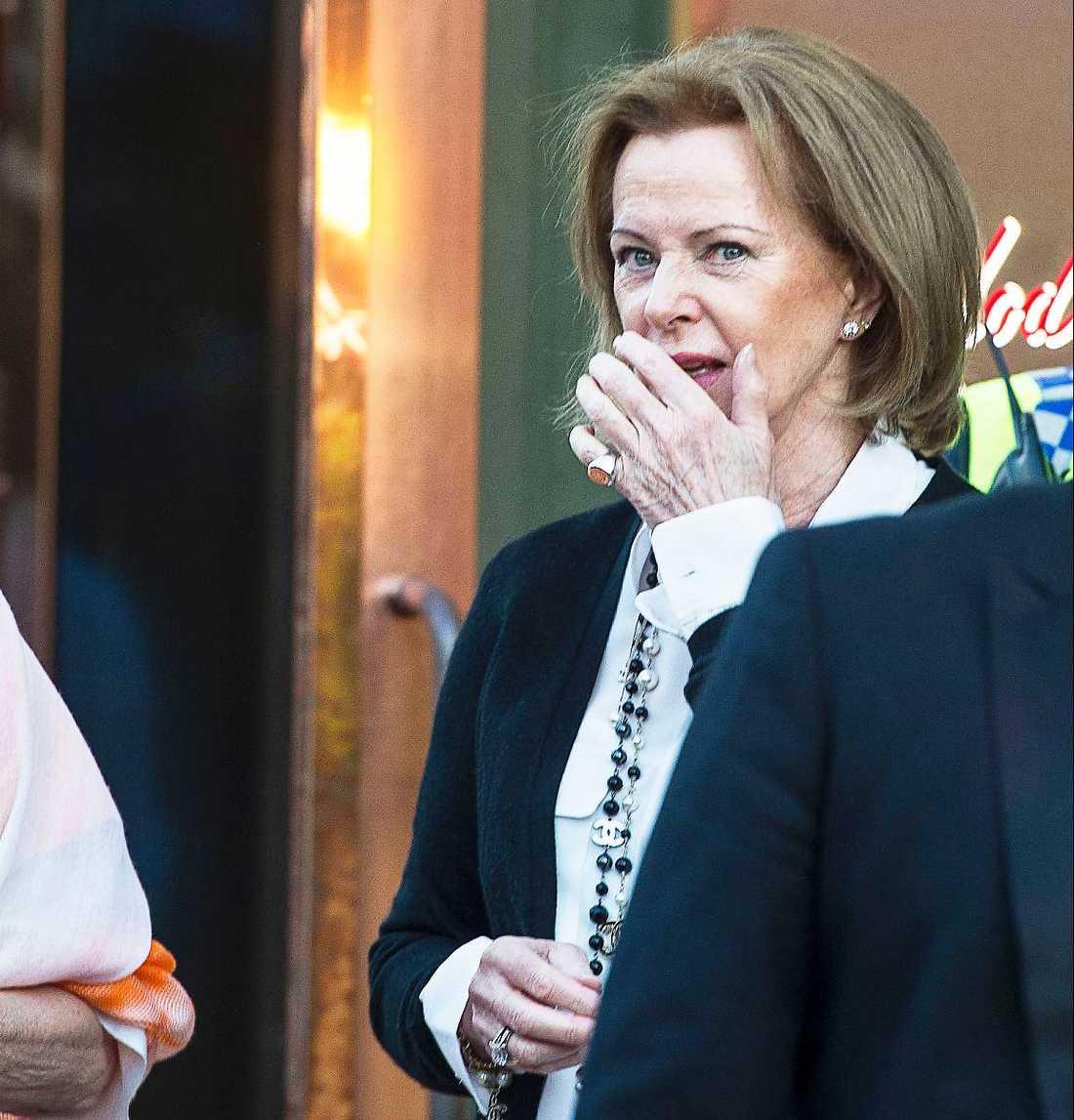 Anni-Frid Lyngstad, Benny Andersson och Björn Ulvaeus kom till invigningen av det nya ABBA-museet i går kväll. Men de saknade Agnetha Fältskog som är i London på pr-turné.