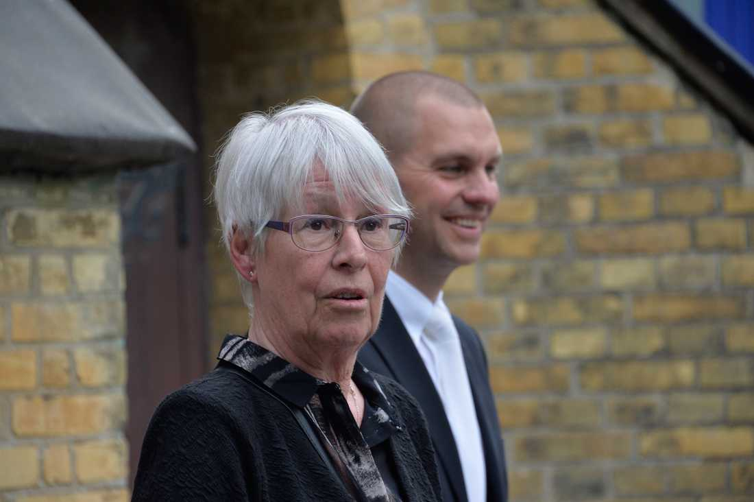 Olles mamma Misse Ljungström.