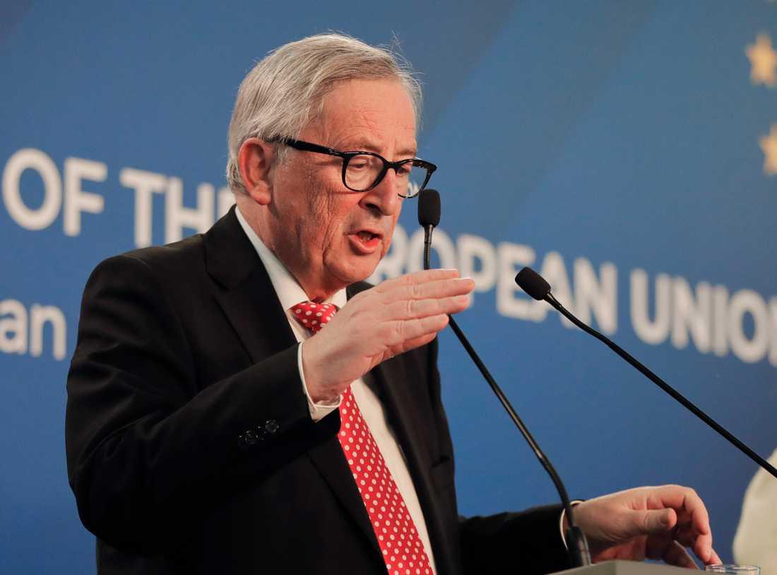EU-kommissionens ordförande Jean-Claude Juncker. Arkivfoto.