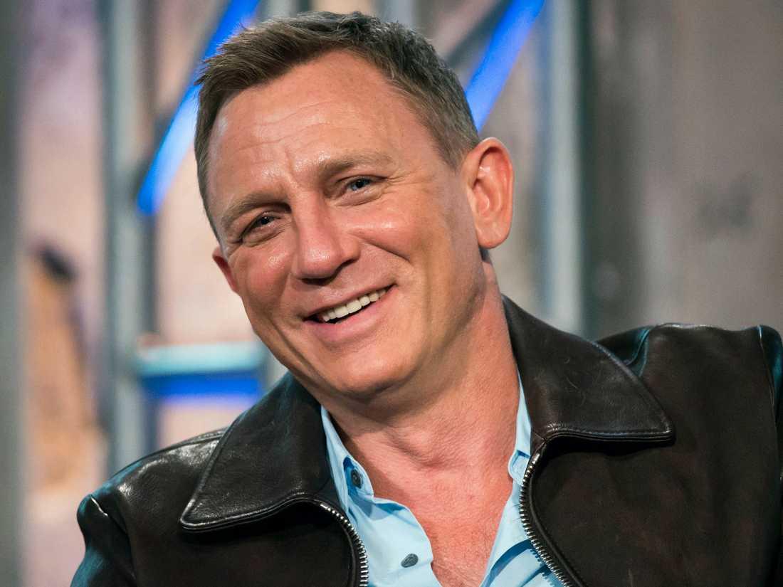 Daniel Craig är klar för sin femte Bond-film.