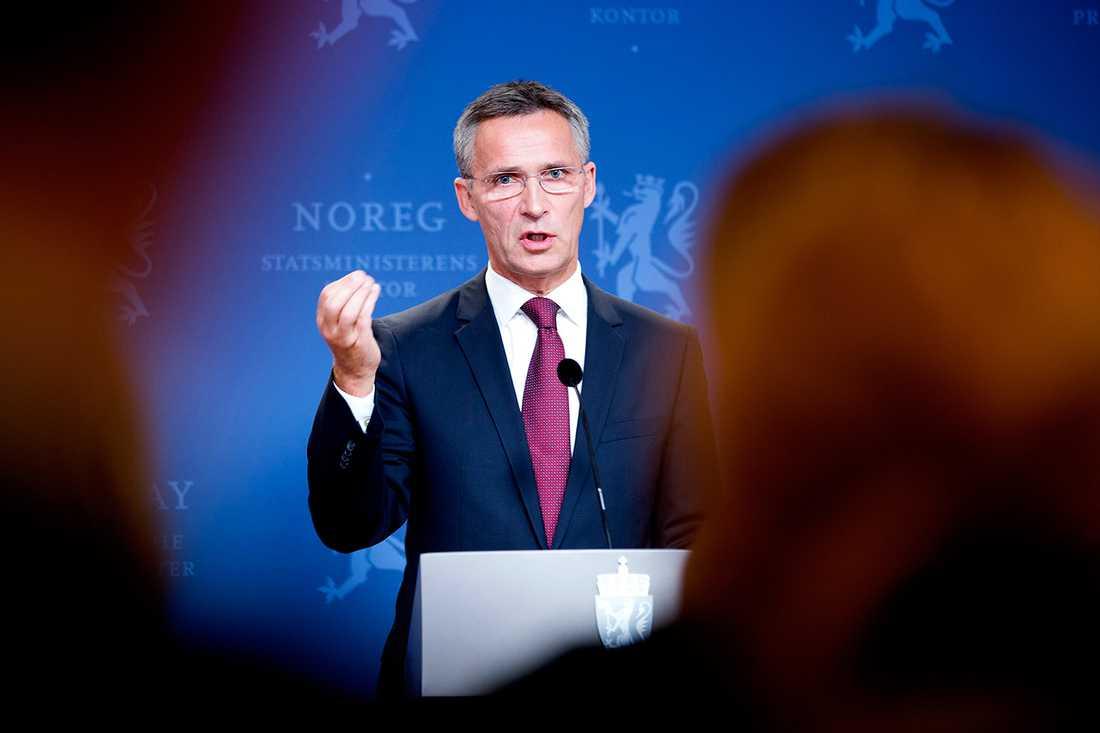 Jens Stoltenberg ska enligt uppgift utses till ny Natochef under ett toppmöte i Bryssel den 1 eller 2 april.