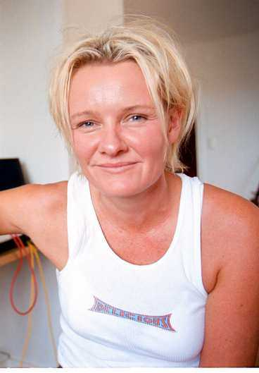 Eva Dahlgren, sångerska.