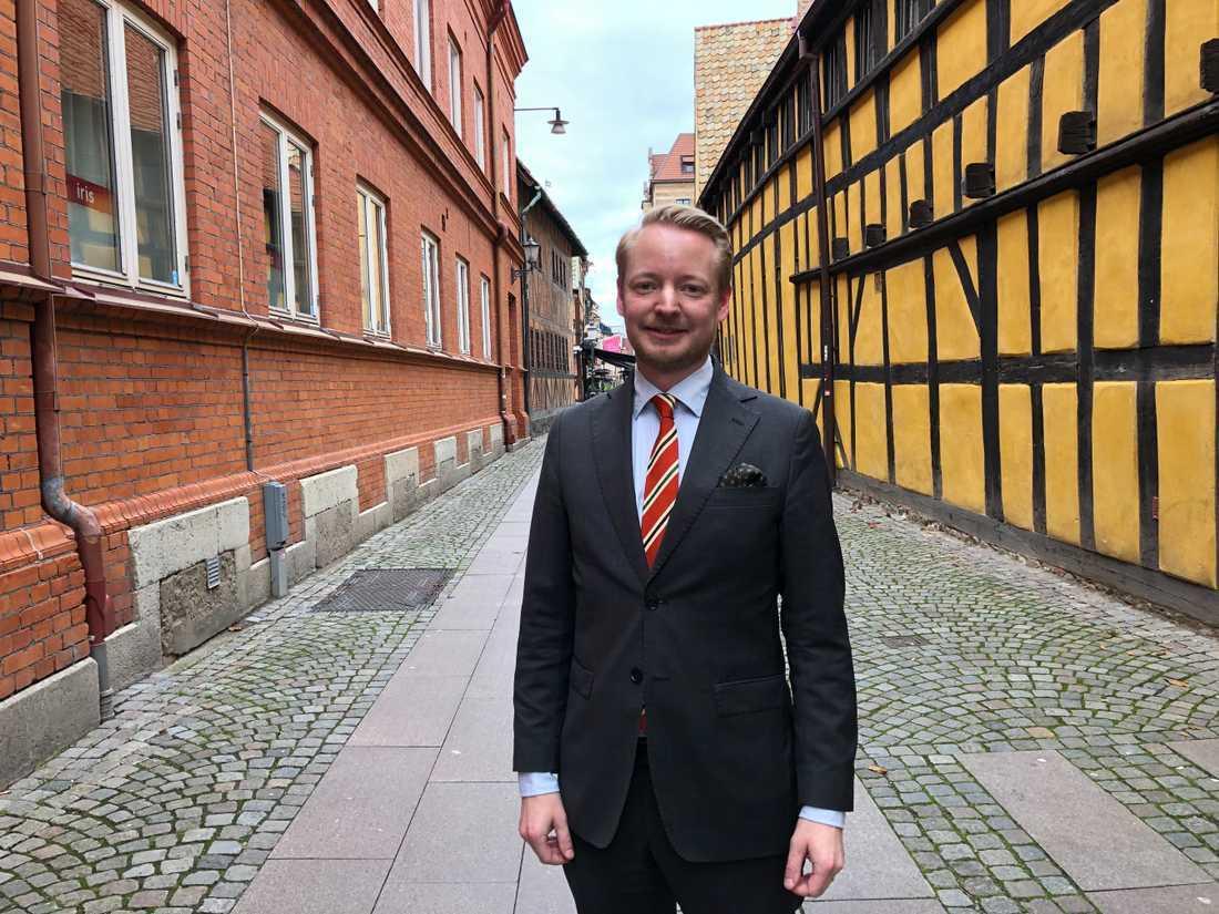 Torbjörn Tegnhammar (M) har tillsammans med partikollegor drivit frågan om ett skyskrapeprogram i Malmö.