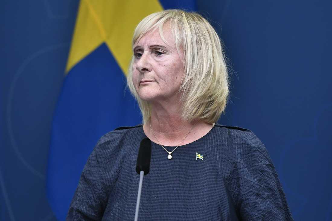 Det finns kommuner och regioner med ett sämre utgångsläge än andra, säger Lena Micko (S), civilminister. Arkivbild.