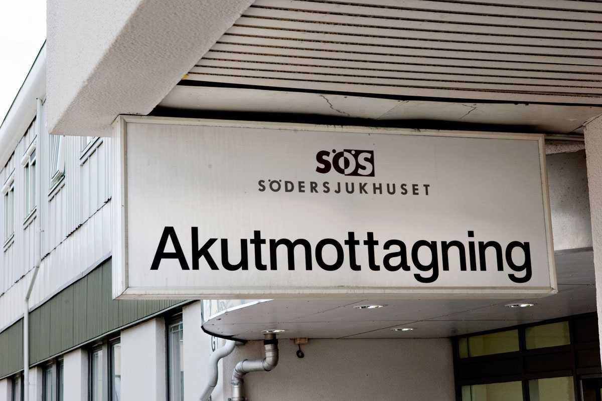 Södersjukhuset i Stockholm.