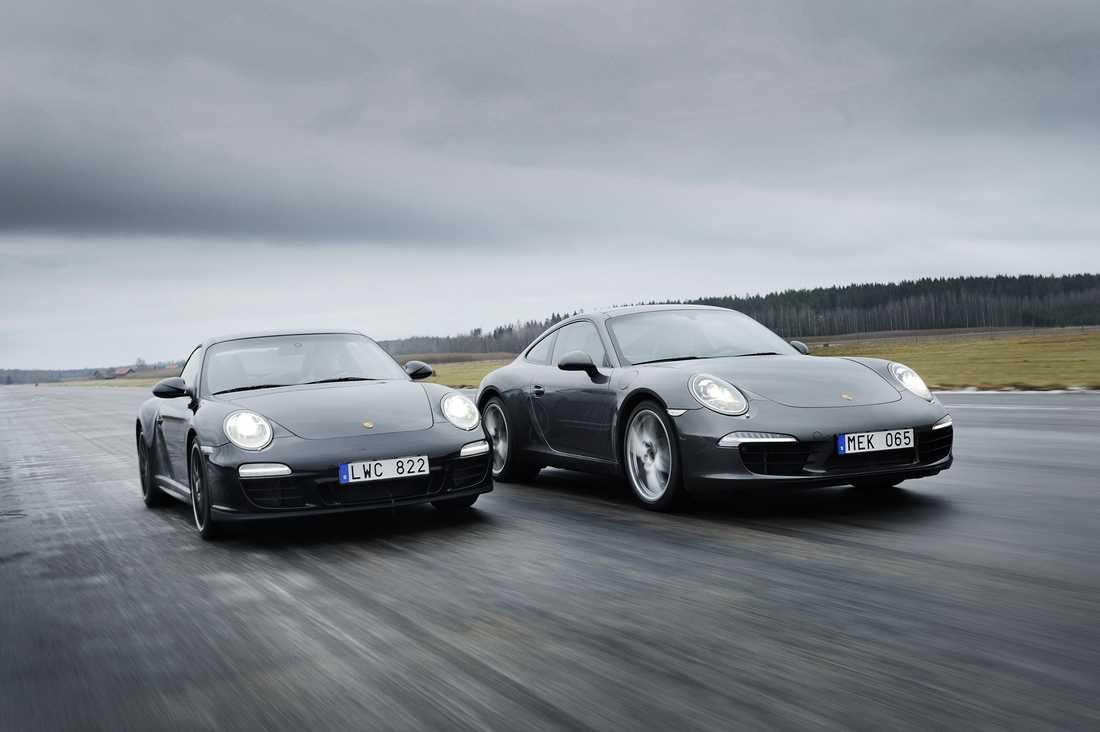 Bilen till vänster är av samma modell som Henrik Schyffert äger. OBS! Genrebild.