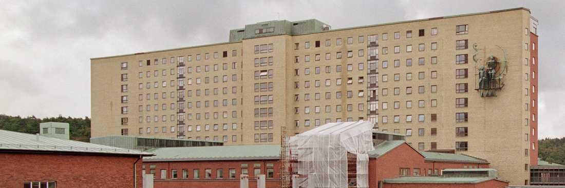 Sahlgrenska sjukhuset i Göteborg.