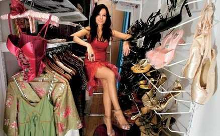 """Drömmarnas garderob Malena Laszlo i sin nya """"walk-in-closet"""". """"Jag trodde att det skulel bli bra – och det blev det"""", säger hon."""