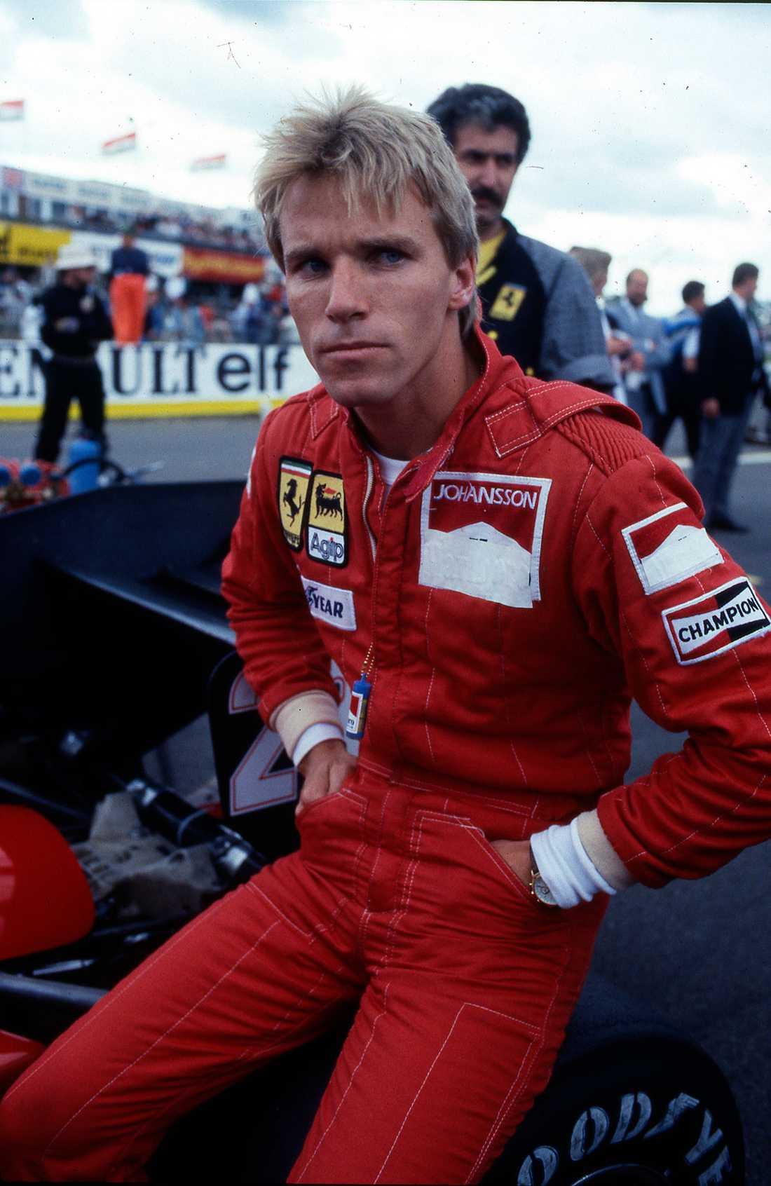 """Stefan """"Lill-Lövis"""" Johansson Född: 8 september 1956. År i F1: 1980–1991. Antal körda GP: 79. Bästa resultat: Andraplats (vid fyra tillfällen). Bästa VM-placering: 5:a, 1986."""