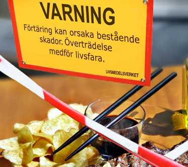Varning. Maten är för fet. Eller?