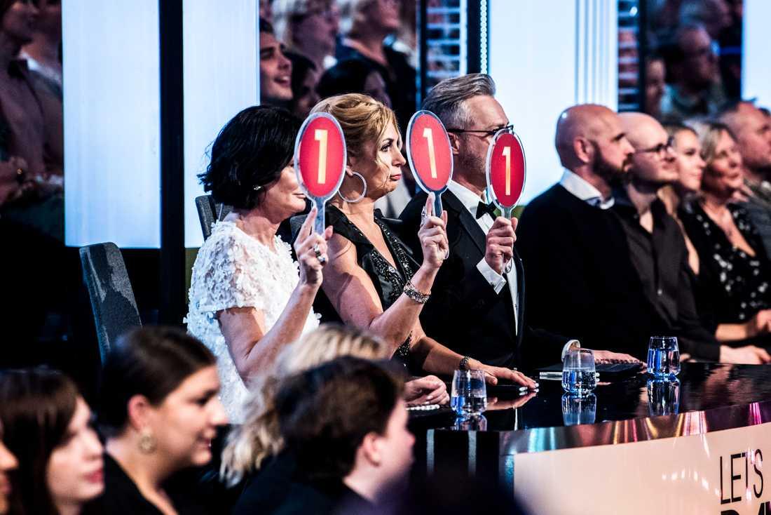 Juryn gav Thomas Ravelli rekordlåga betyg i premiären