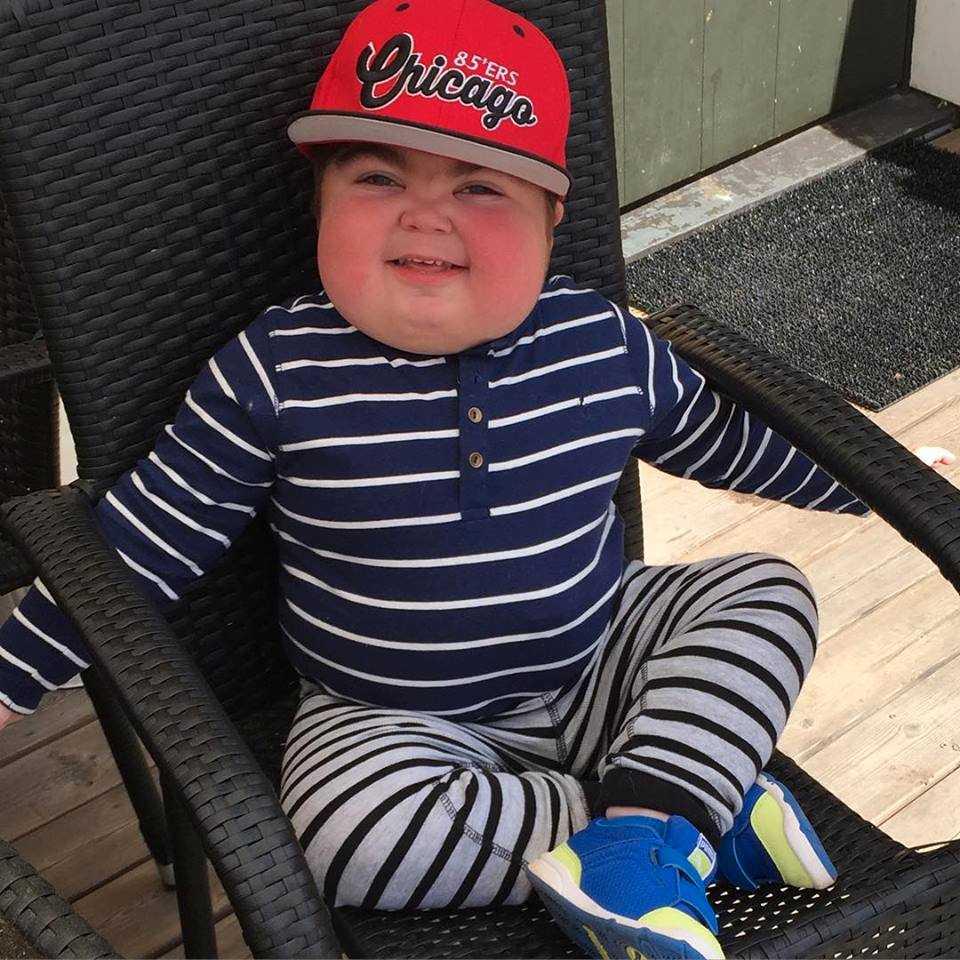 2012 upptäckte läkarna att Max drabbats av den ovanliga sjukdomen Hurlers sjukdom. Foto: Privat
