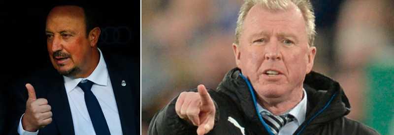 Rafael Benitez uppges ersätta McClaren.