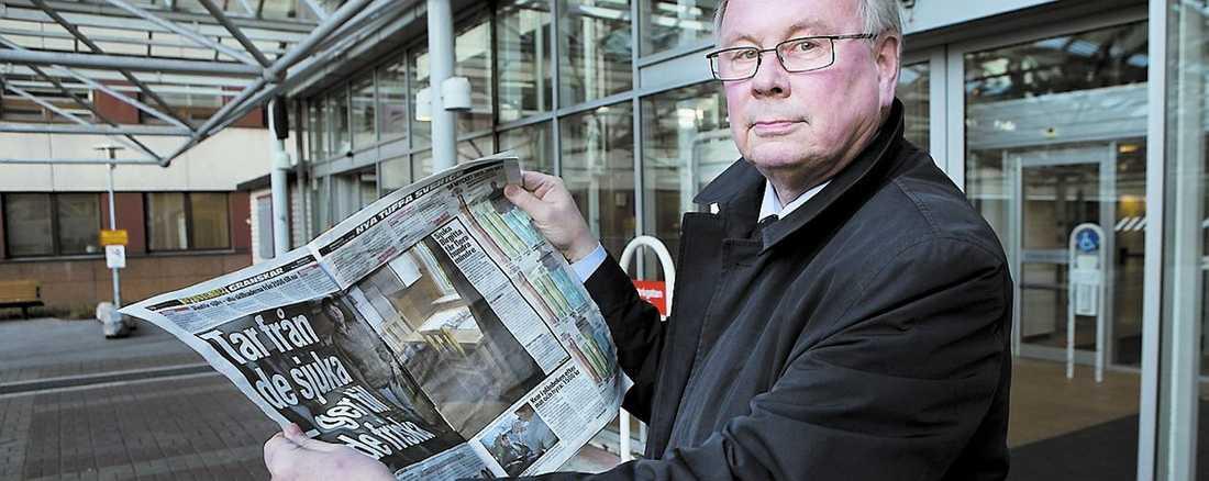 """""""På sikt kommer vi att arbeta för att höja taken i sjukförsäkringen"""", säger Ulf Nilsson, (FP)."""