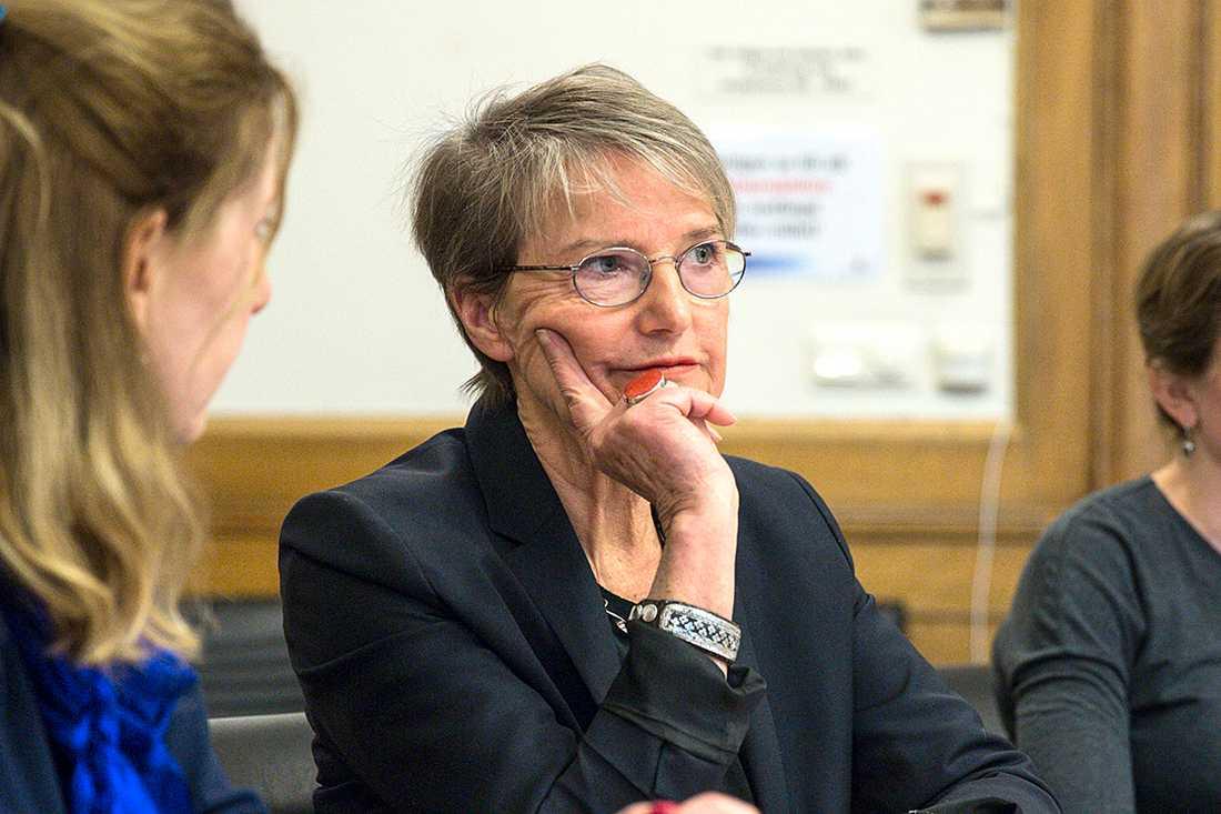 Kristina Persson, framtidsminister (S): Norden ska vara tryggt och säkert och fritt för alla människor att leva i.