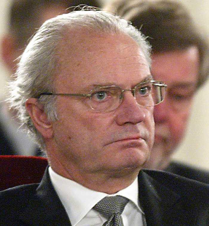 Kung Carl Gustaf.