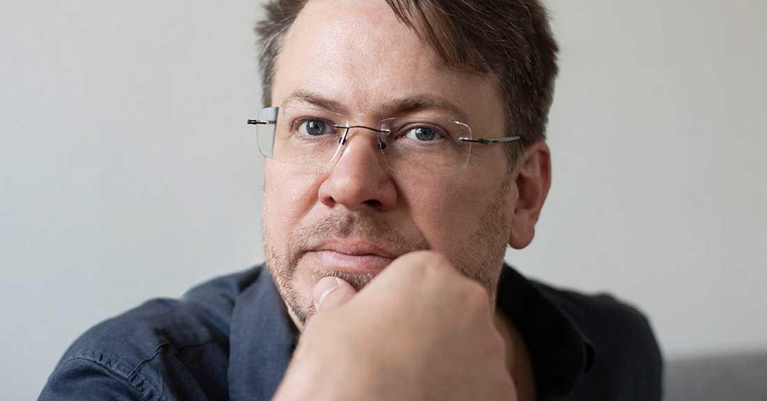 """Ola Nilsson (född 1972), aktuell med sin sjunde roman, """"Vittring""""."""