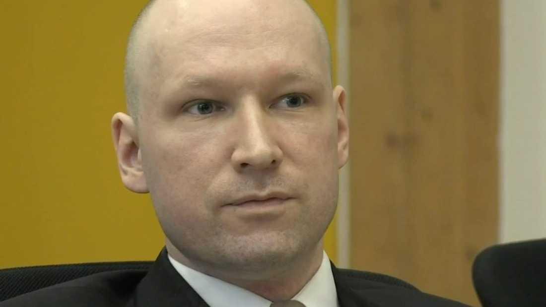 Massmördaren Breivik fick tala i timmar i rätten i dag.