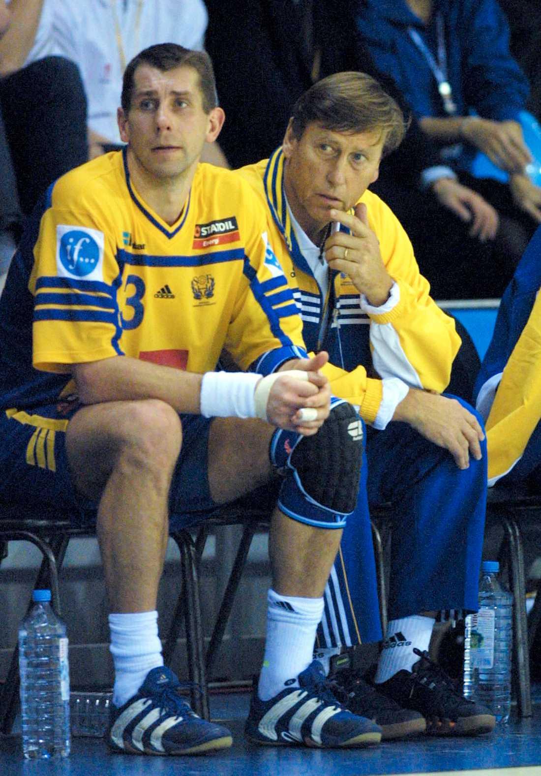 Magnus Wislander och Bengt Andersson.
