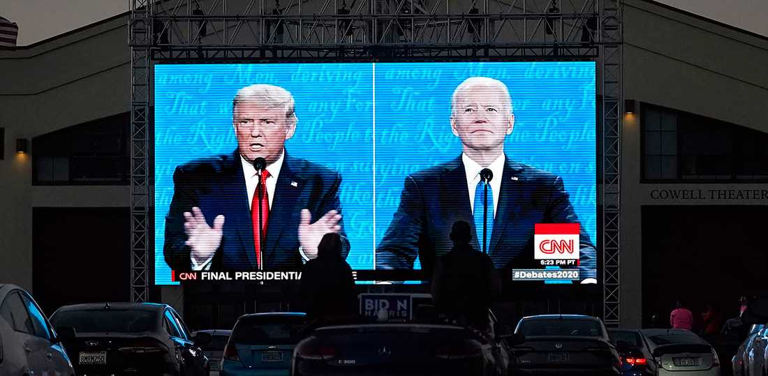 På tisdag den 3 november avgörs det –blir det Trump eller Biden?