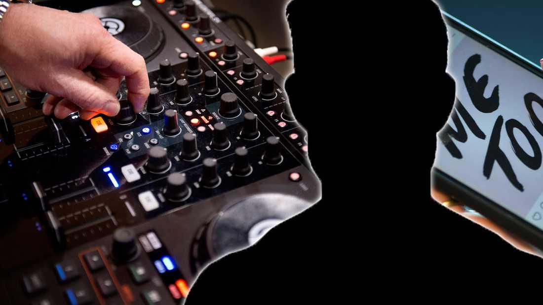 En av cheferna på ett av Sveriges största skivbolag anklagas nu för sexuella trakasserier.
