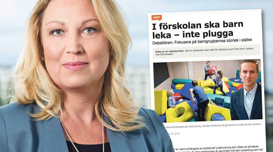 Skogstad devalverar förskollärares pedagogiska roll till att handla om barnpassning och att vara lekledare. Det är inte bara felaktigt utan också oförskämt, skriver Johanna Jaara Åstrand.