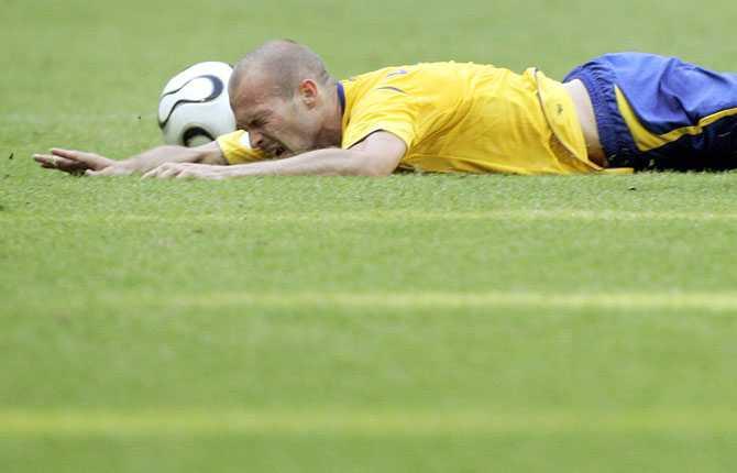 ...men där blev det platt fall. 2-0 till Tyskland och Sverige utslaget.
