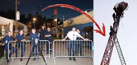 Karusellen kraschade på ett tivoli utanför Paris. Två dog och två skadades allvarligt.