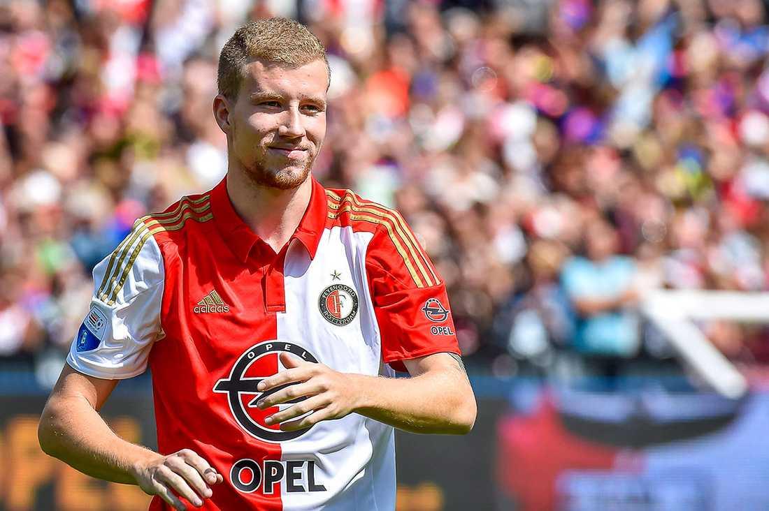 Simon Gustafson en av två svenskar som spelar i Feyenoord.