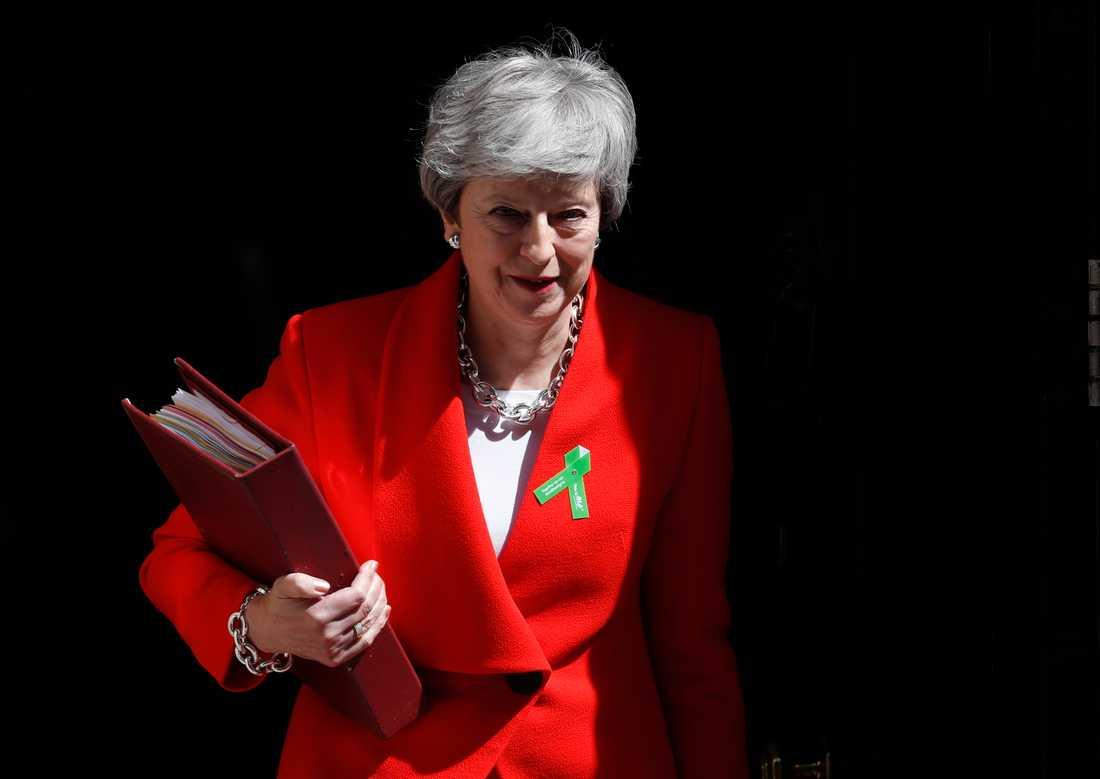 Storbritanniens premiärminister Theresa May avgår den 7 juni som partiledare för Konservativa partiet.