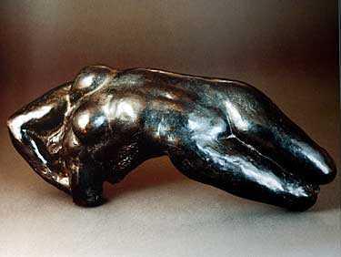 Skulpturen Torso av Adele, av den franske konstnären Auguste Rodin (1840–1970).
