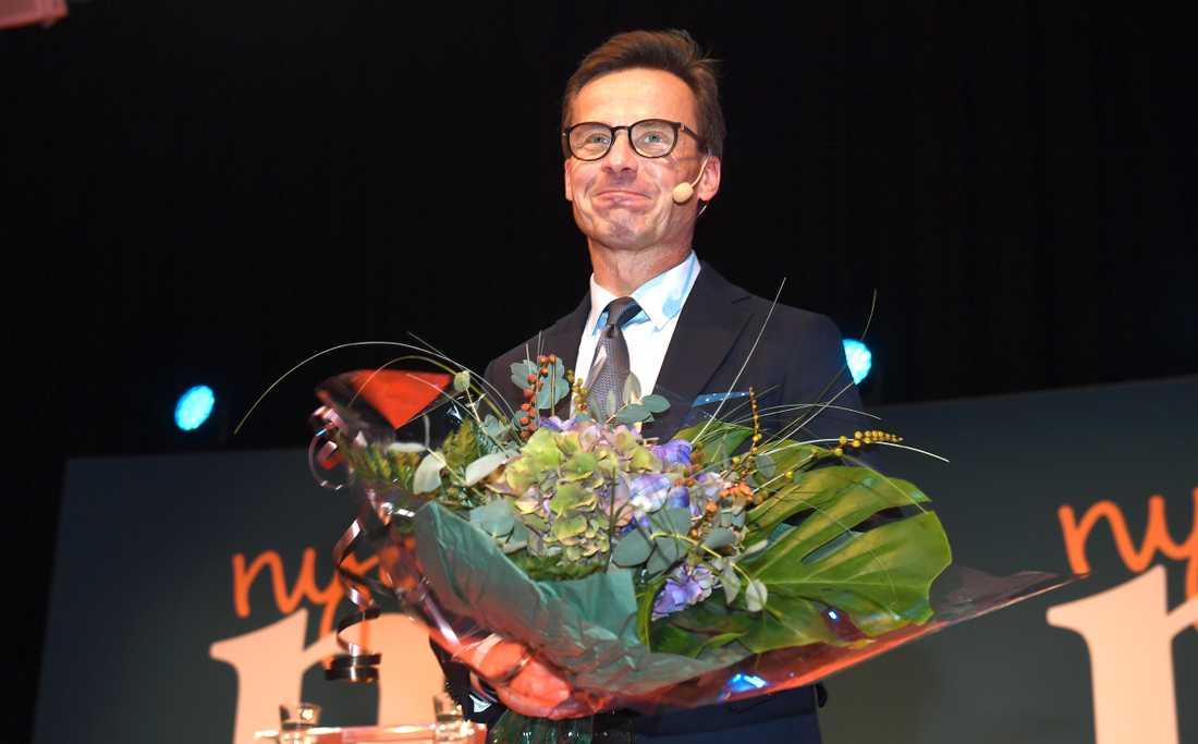 Ulf Kristersson, ny partiledare för Moderaterna.