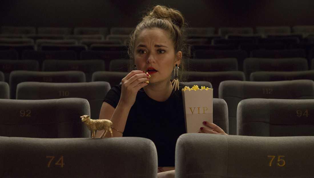 Hanna Persson ledde SVT:s försnack inför Oscarsgalan. Nu ångrar hon att hon sa ja till jobbet.