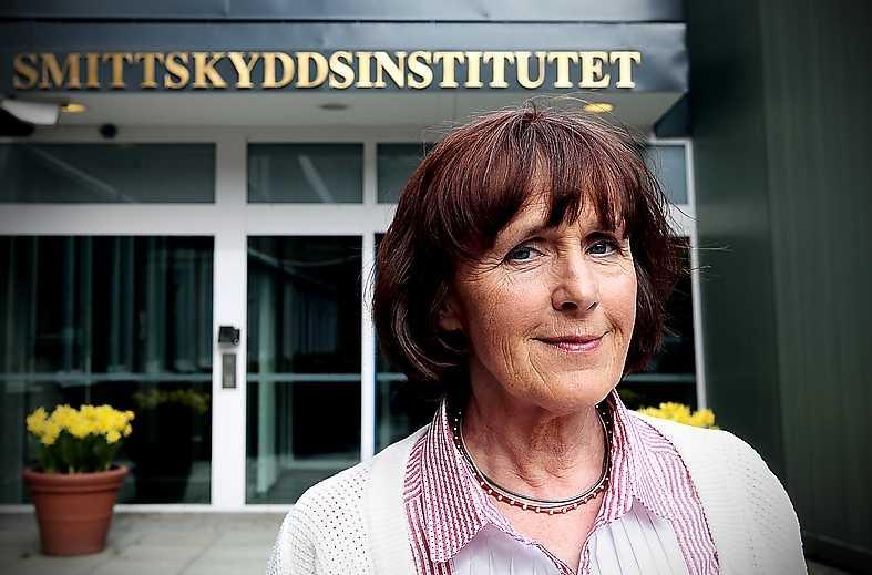 Annika Linde, statsepidemiolog.